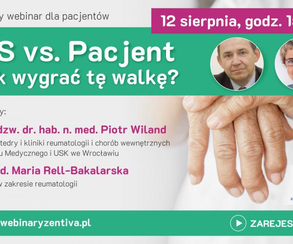 Bezpłatny webinar dla pacjentów z chorobami reumatoidalnymi